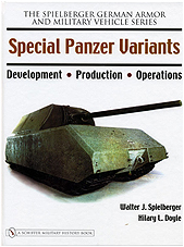 Special Panzer Variants, Development - Production - Operations (