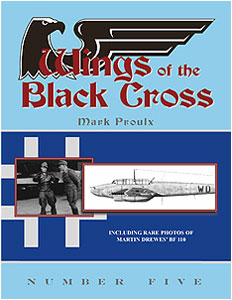 Wings of the Black Cross Number Five (Mark Proulx)